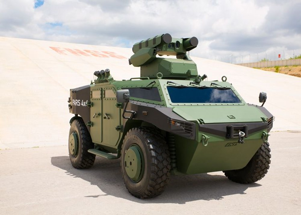 Dijital birliğin robot askeri Barkan göreve hazırlanıyor (Türkiye'nin yeni nesil yerli silahları) - 196