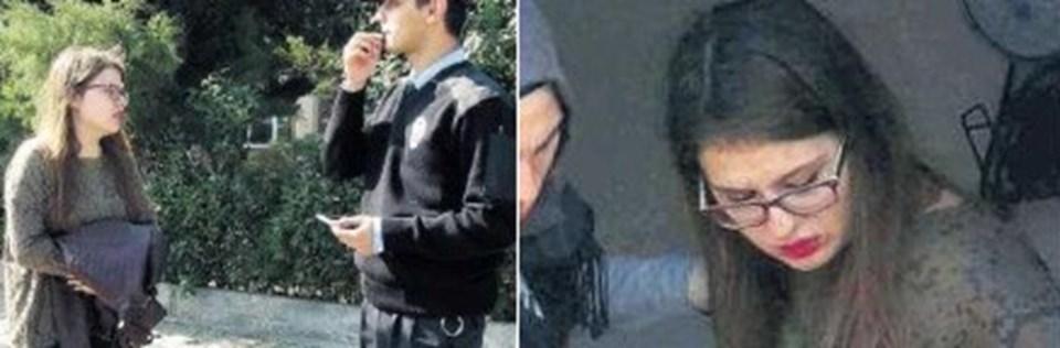 Üniversite öğrencisi genç Miray, olay sonrası polise şikayette bulundu.