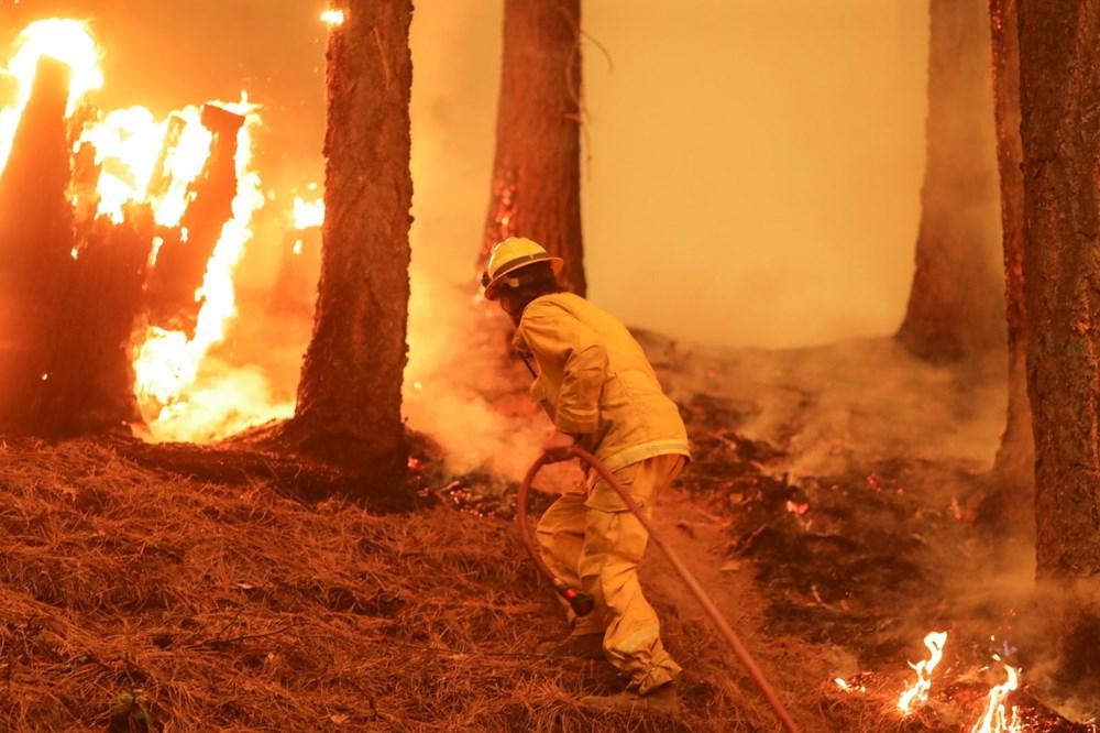 ABD'nin Kaliforniya eyaletinde orman yangınlarıyla mücadele büyüyor: 50 binden fazla evin elektriği kesildi - 9