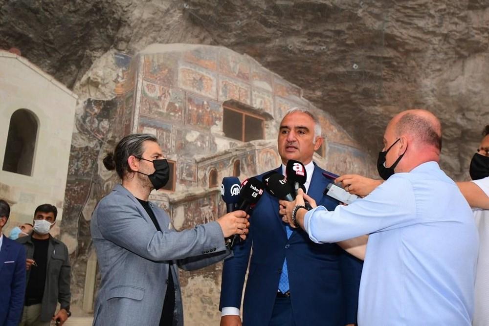 Sümela Manastırı 5 yıl sonra ziyarete açıldı - 5