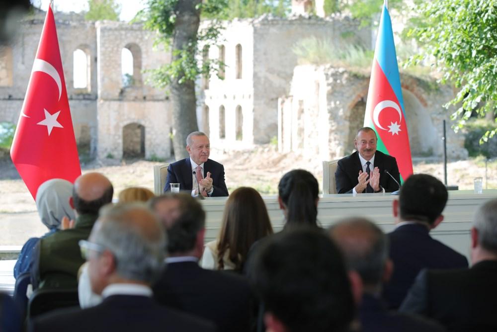 Cumhurbaşkanı Erdoğan ve Aliyev Şuşa Beyannamesi'ni imzaladı - 10