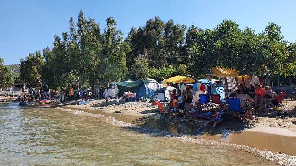 Sahiller çadır kente döndü: Günlüğü 45 liraya tatil - 6