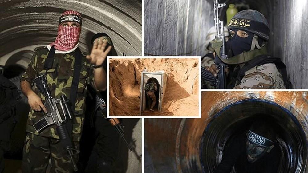 Hamas'ın Gazze'de kullandığı tüneller görüntülendi: İsrail'in hedefinde - 2