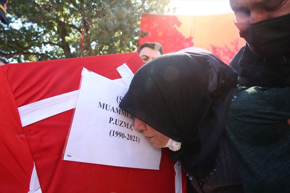Martir Muammer Yiğit mengucapkan selamat tinggal pada perjalanan terakhirnya di Tokat - 8