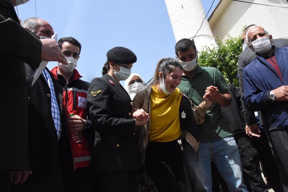 Şehit Teğmen Mehmet Kıvık, son yolculuğuna uğurlandı - 7
