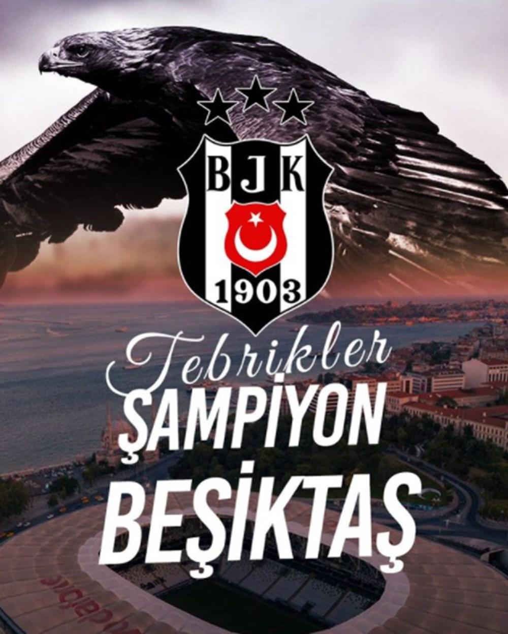 Ünlülerden Beşiktaş'ın şampiyonluk paylaşımları - 6