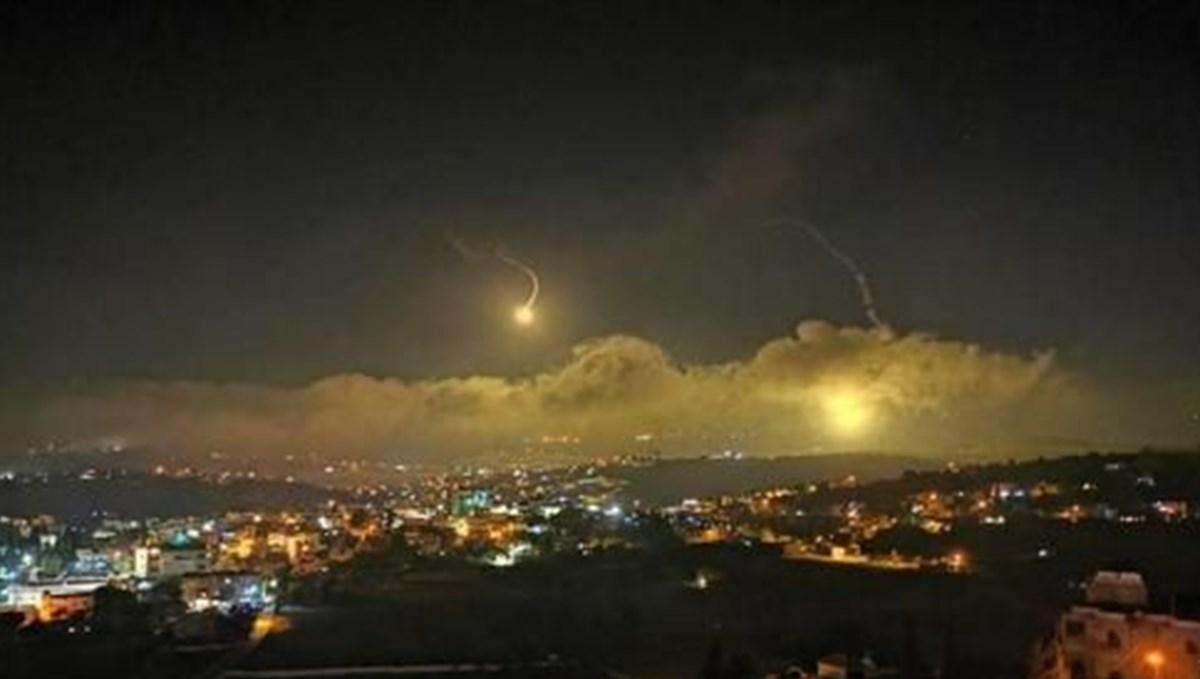 İsrail Lübnan'da Hizbullah'ın gözlem noktalarını vurdu