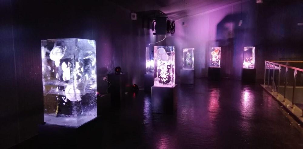 Buz'u sanata dönüştürdüler: Atabuz Müzesi 2021 yılının ilk ayında iki farklı sergiye ev sahipliği yapıyor - 1