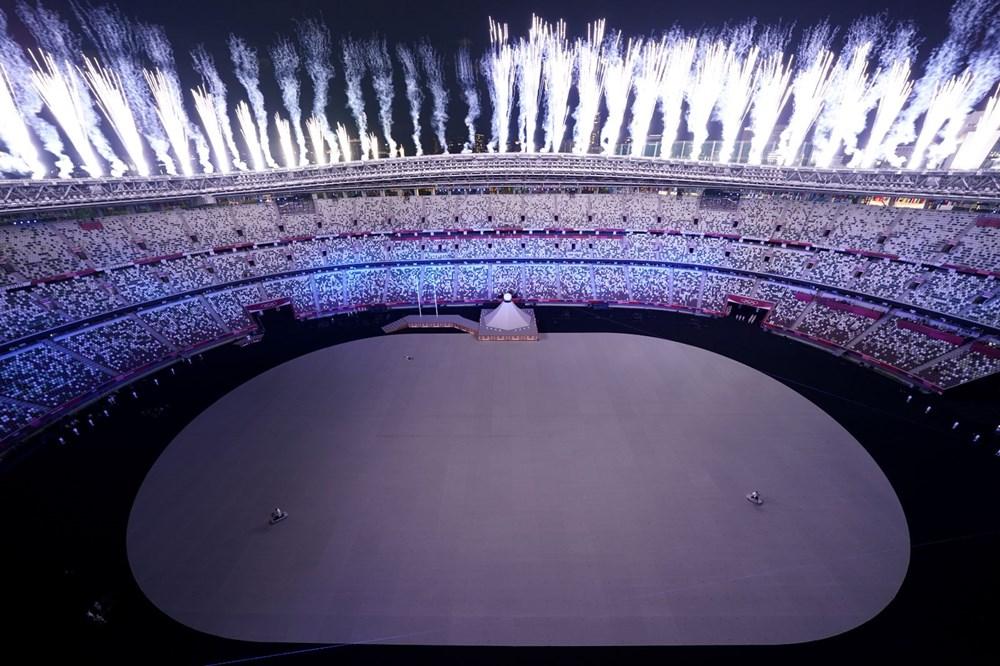 2020 Tokyo Olimpiyatları görkemli açılış töreniyle başladı - 6