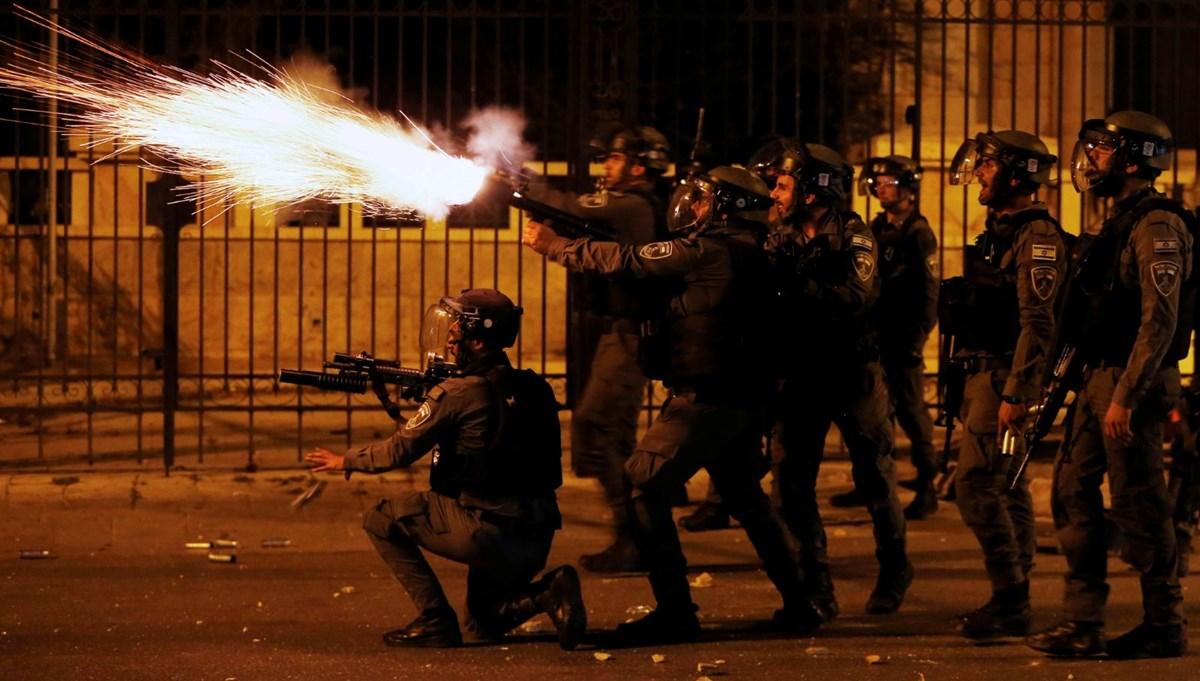 SON DAKİKA:AA Ortadoğu Editörü Boyraz, Mescid-i Aksa'daki müdahalede plastik mermiyle vuruldu