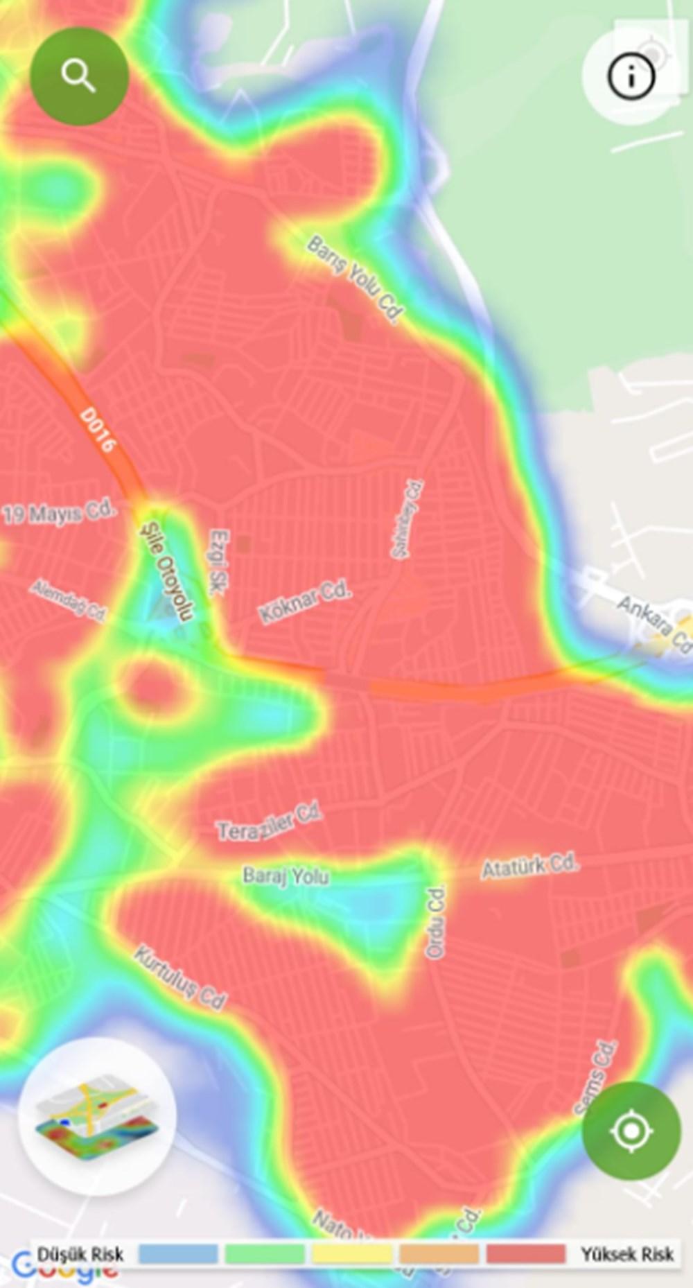Corona haritası kızarıyor (İstanbul'un en güvenli ilçeleri) - 32