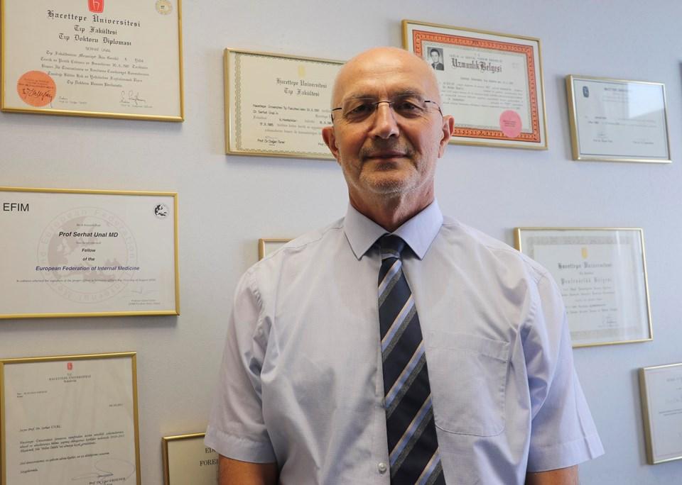 SağlıkBakanlığı Koronavirüs Bilim Kurulu Üyesi Prof. Dr. Serhat Ünal