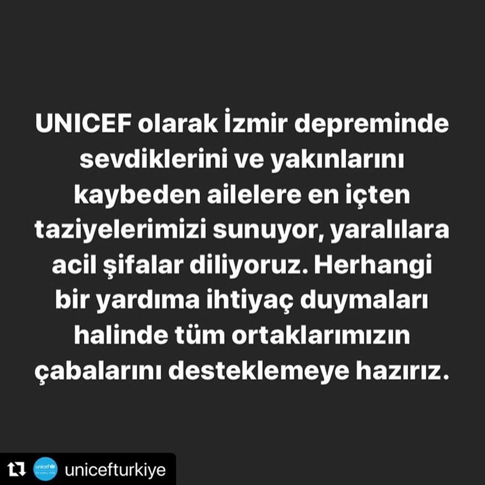 Ünlü isimlerden İzmir'e destek mesajları - 11