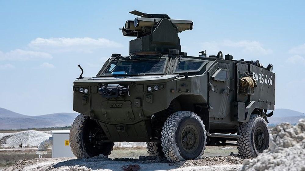 Silahlı drone Songar, askeri kara aracına entegre edildi (Türkiye'nin yeni nesil yerli silahları) - 236