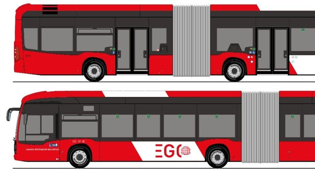Başkentlilerin yeni otobüste renk tercihi kırmızı-beyaz oldu thumbnail