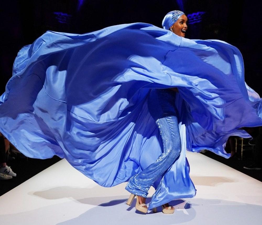 İlk tesettürlü model Halima Aden podyumu bıraktı: Moda asla bana göre değildi - 3