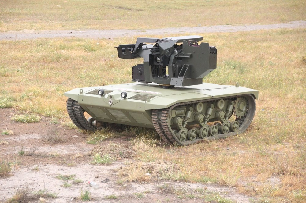 Dijital birliğin robot askeri Barkan göreve hazırlanıyor (Türkiye'nin yeni nesil yerli silahları) - 80