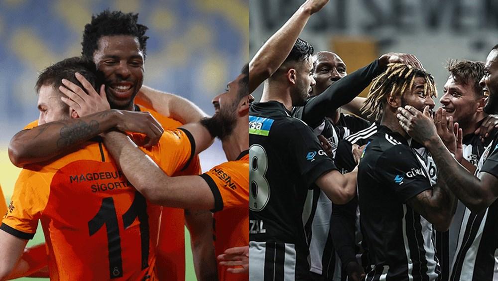 Süper Lig'de kader derbisi: Galatasaray - Beşiktaş