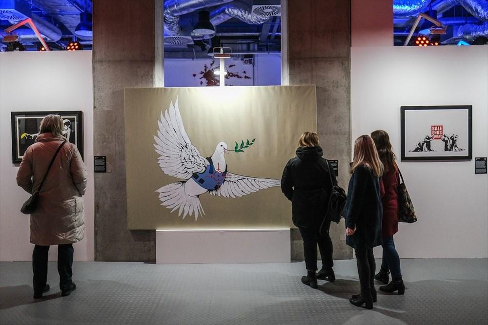 Banksy'nin sergisi Varşova'da - 10