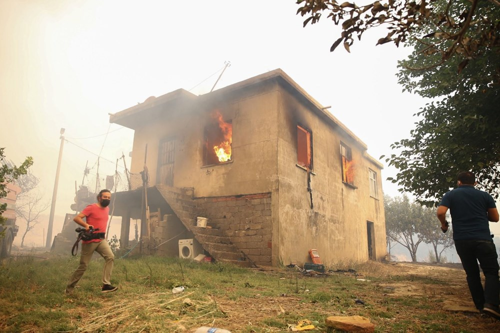 Antalya Manavgat'ta yangın: 3 ölü - 11
