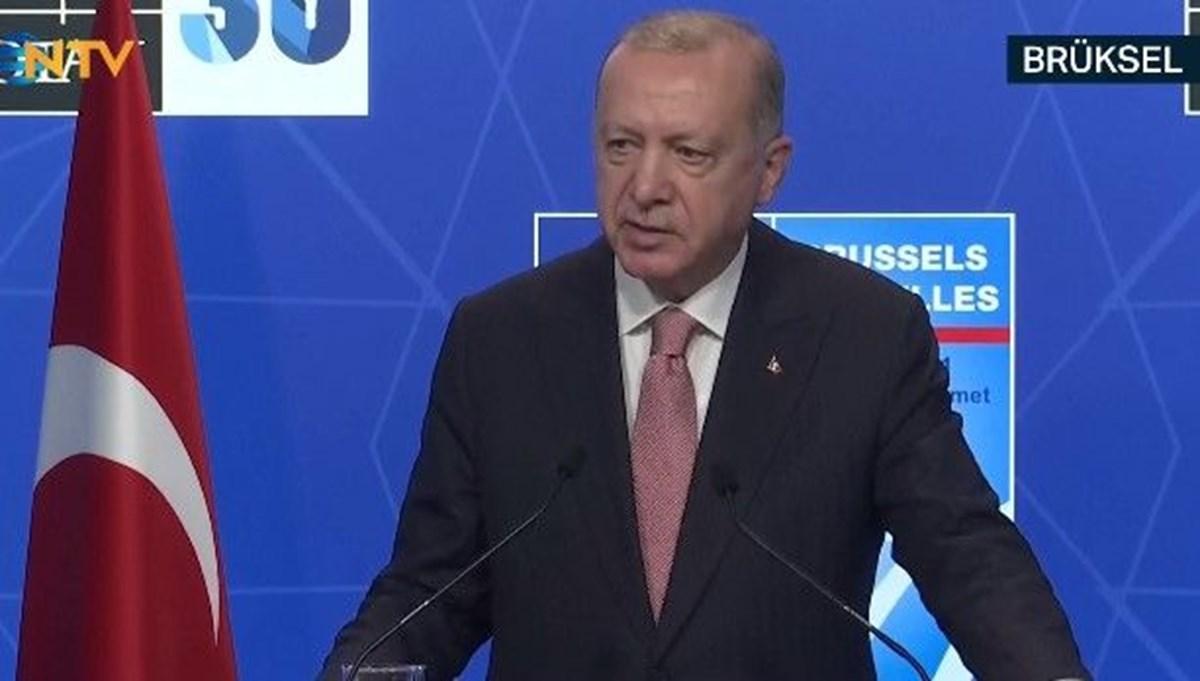 SON DAKİKA:Cumhurbaşkanı Erdoğan, Biden'la görüşmesinin ardından açıklama yapıyor