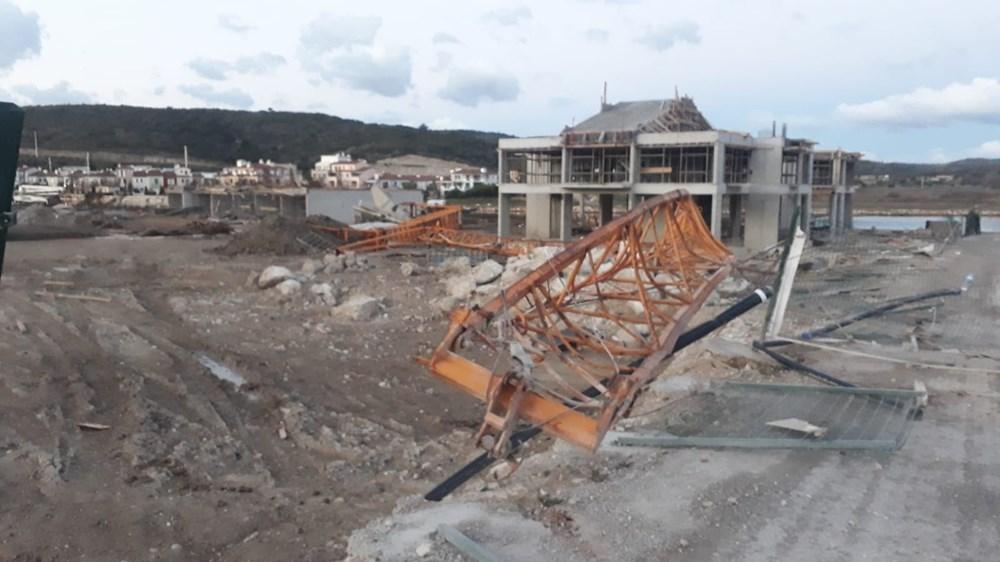 İzmir'de hortum felaketinin boyutları gün ağarınca ortaya çıktı - 13