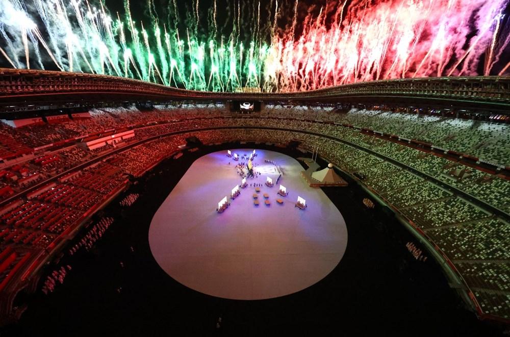 2020 Tokyo Olimpiyatları görkemli açılış töreniyle başladı - 61