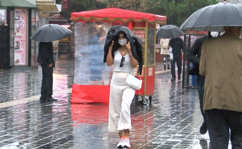 İstanbul'da sağanak yağış - 4