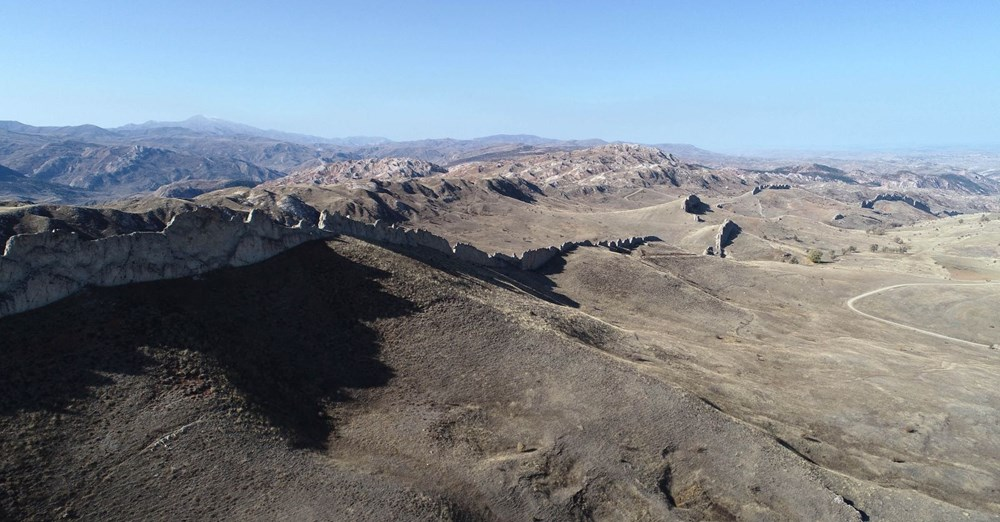 This is Sivas, not China!  It's called the 'Natural Great Wall of China' - 11