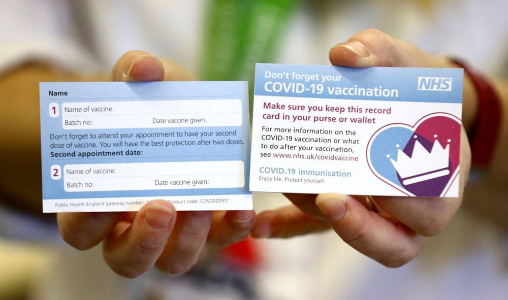 İlk toplu aşılama bugün İngiltere'de başladı: İlk aşı yapıldı - 5