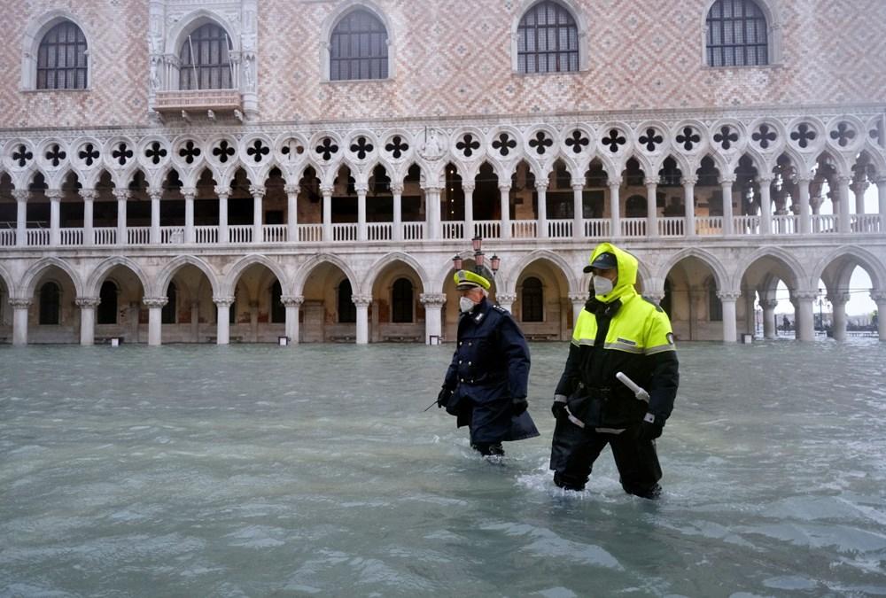 Venedik'te yine su baskını: Milyar dolarlık proje işe yaramadı - 9