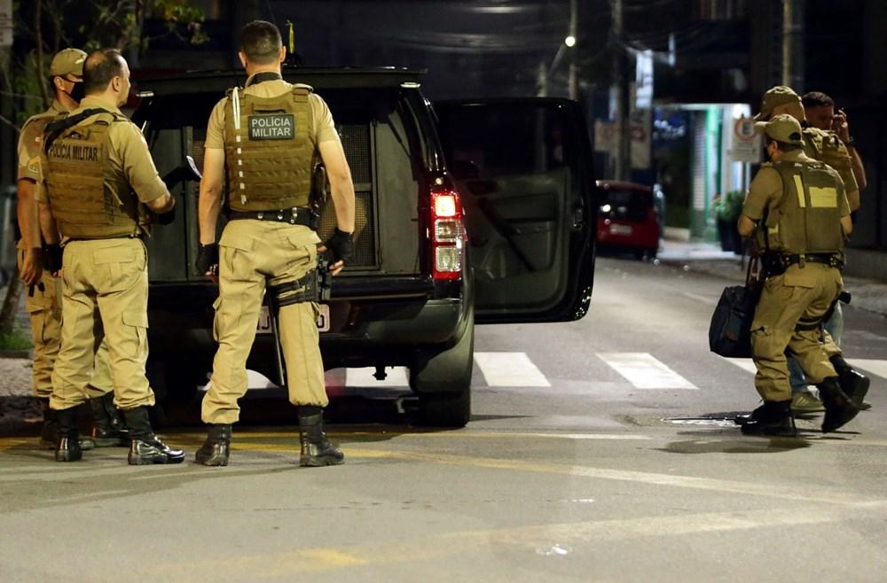Brezilya'da savaş gibi banka soygunu: 30 kişi geldiler - 12