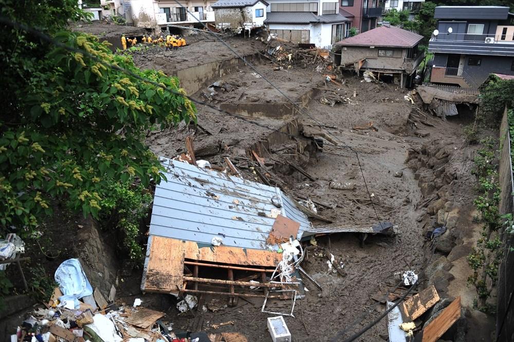Japonya'daki sel felaketi: Ölü sayısı 7'ye yükseldi - 19