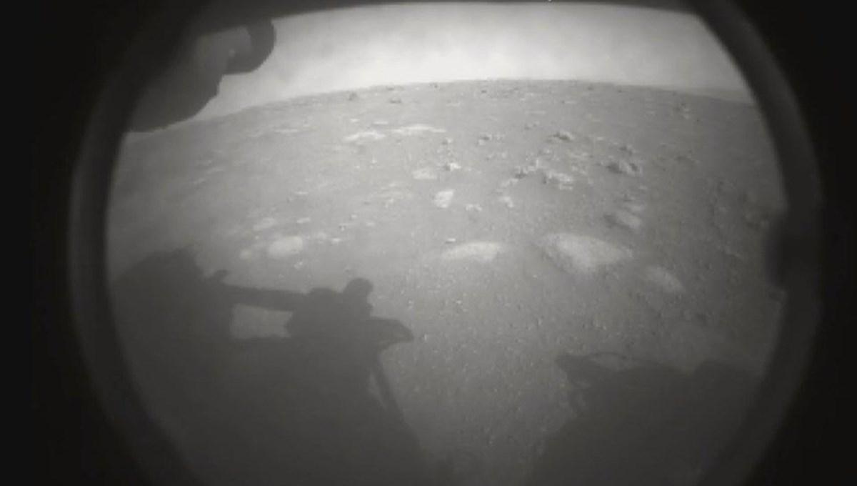 """NASA, """"Perseverance""""ınMars'a iniş anına ait görüntüleri yayınladı"""