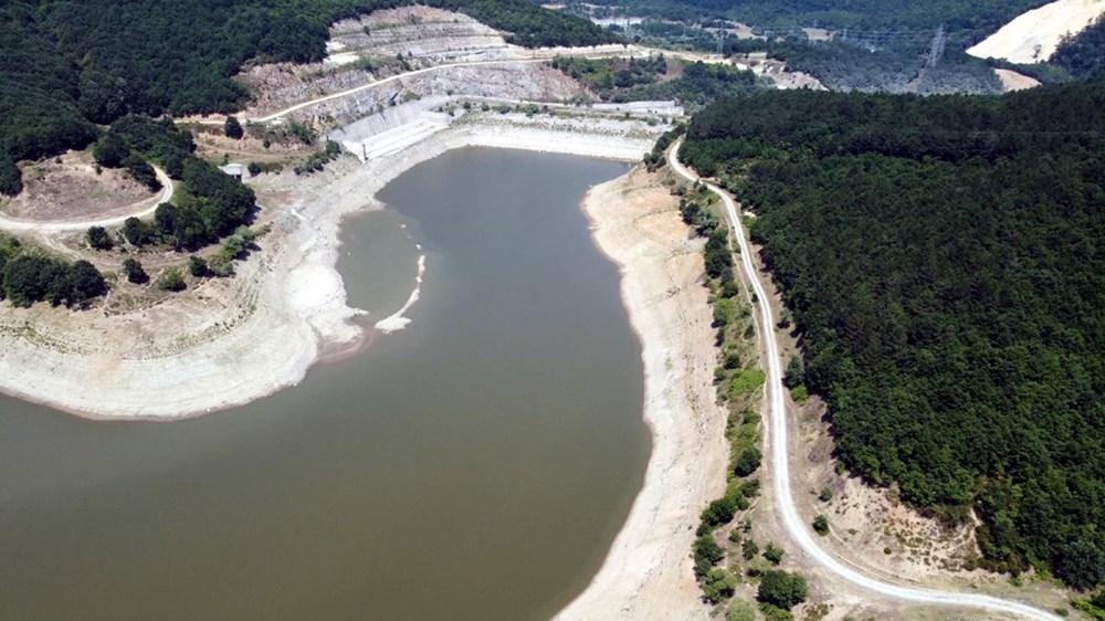İstanbul'un su ihtiyacını karşılayan Trakya'daki barajlar kurudu - 5