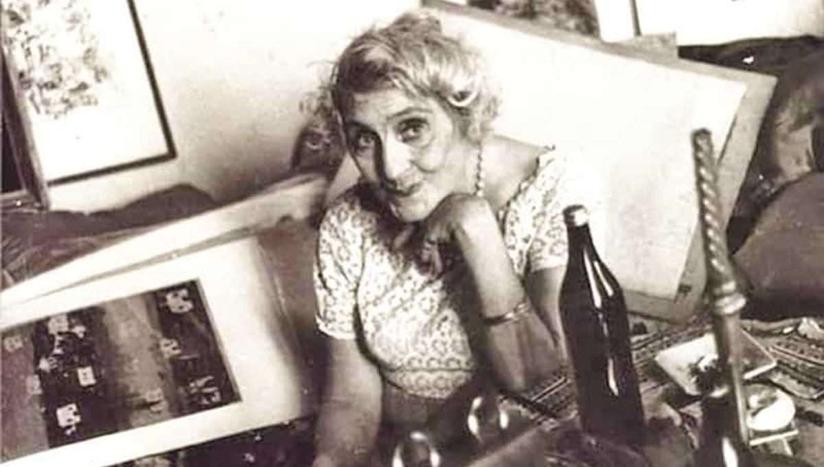 Türkiye'nin ilk kadın oyma gravür sanatçısı Aliye Berger anılıyor