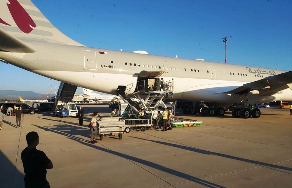 Katar kraliyet ailesi Bodrum'da: 2 kamyon eşya, 500 valiz - 19