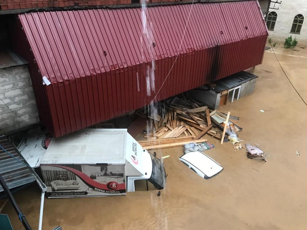 Şiddetli yağış Rize'yi de vurdu: 2 can kaybı - 30