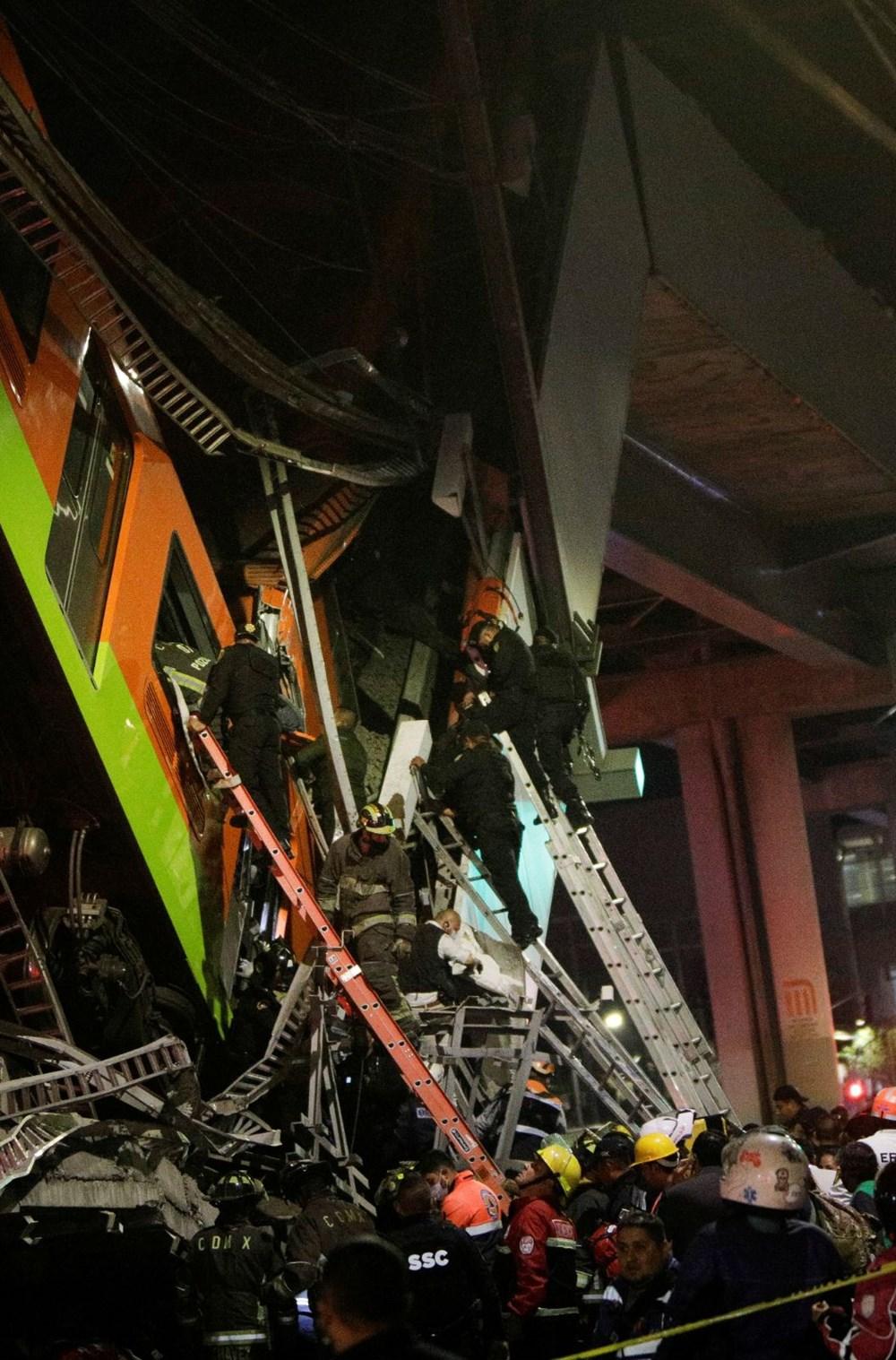 SON DAKİKA HABERİ: Meksika'da metro kazası: 15 kişi öldü, 70 kişi yaralandı - 5