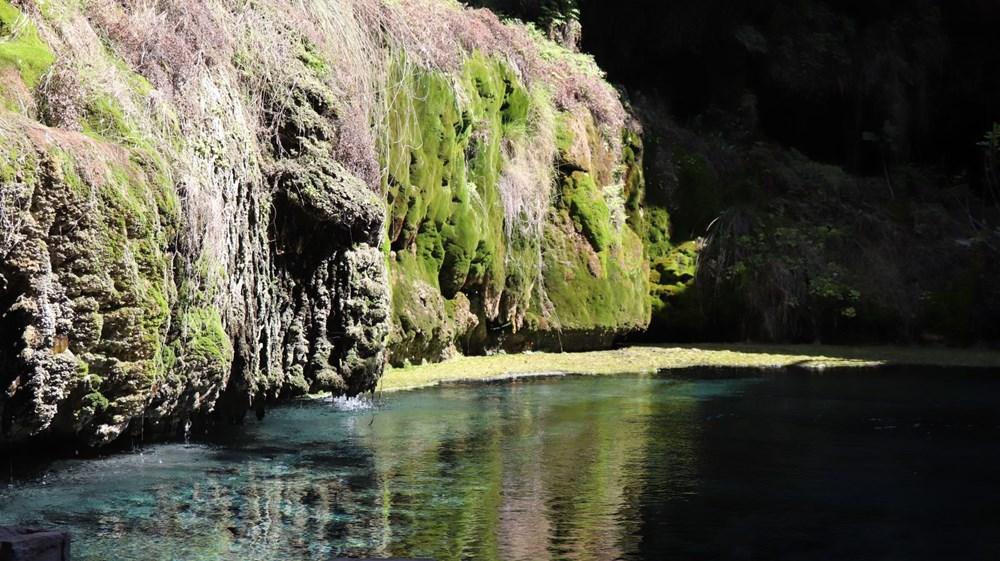 Denizli'de 2 milyon yıllık 'Yeraltındaki gizli Pamukkale' Kaklık Mağarası şifa dağıtıyor - 3