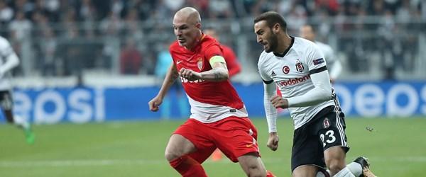 Beşiktaş-Monaco karşılaşması