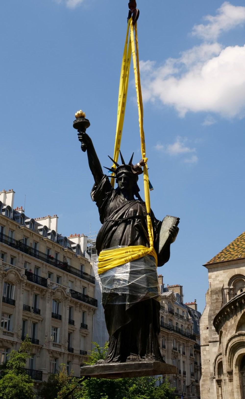 Fransa'dan ABD'ye yeni Özgürlük Heykeli - 3