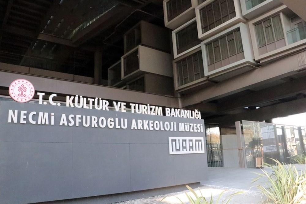 Hatay'da beş dönemin izlerini taşıyan Necmi Asfuroğlu Arkeoloji Müzesi ziyaretçilerini zaman yolculuğuna çıkarıyor - 9