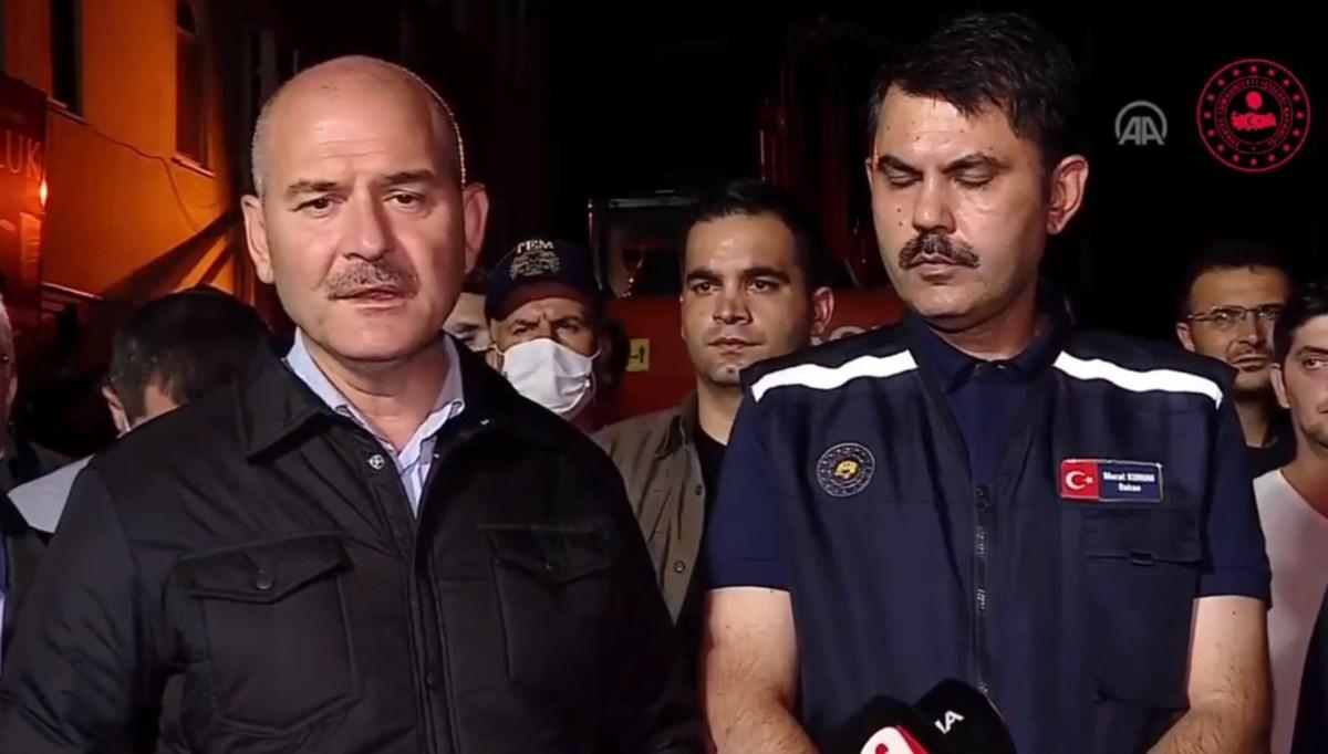 Bakan Soylu: Gördüğüm en ağır sel felaketi, Dereli'deki felaketin 5 misli