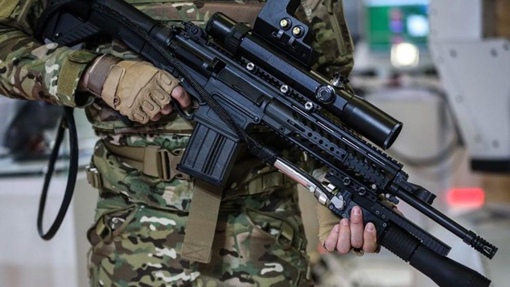 Dijital birliğin robot askeri Barkan göreve hazırlanıyor (Türkiye'nin yeni nesil yerli silahları) - 112