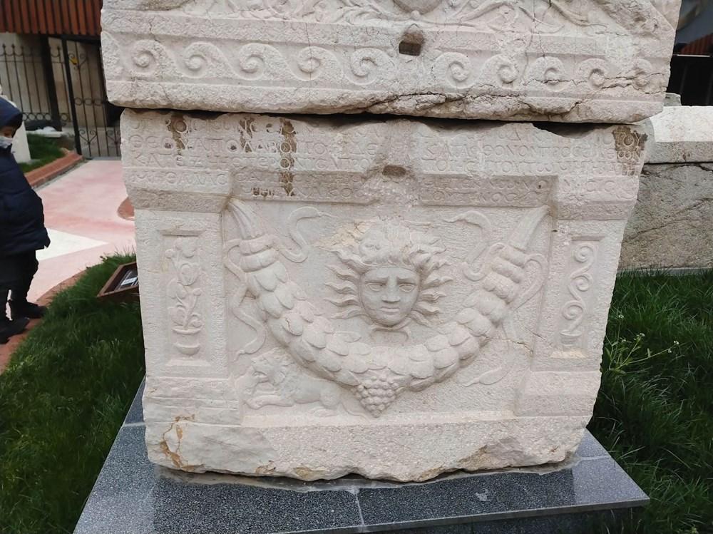 Medusa kabartmalı lahitteki 'beddua'nın sırrı - 6
