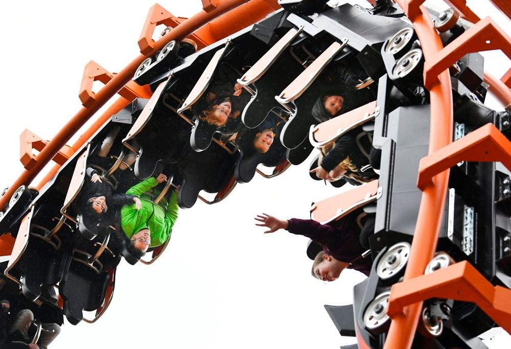 Hollanda'da eğlence parkları yeniden açıldı - 8