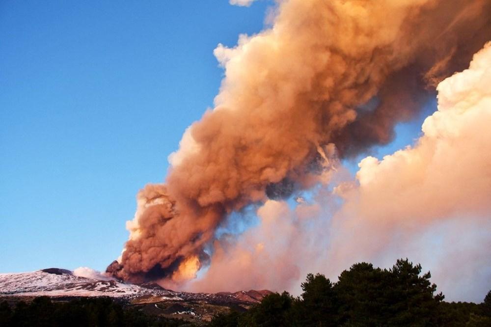 Etna Yanardağı, son bir haftada 6 kez faaliyete geçti - 5