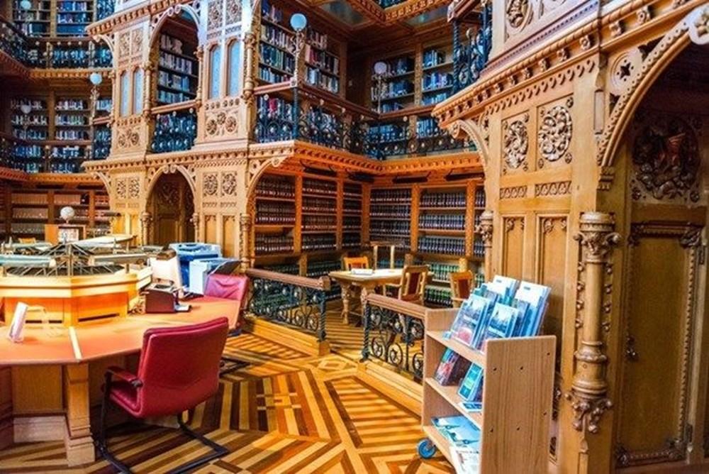 Cumhurbaşkanlığı Millet Kütüphanesi'ni 1 yılda yaklaşık 342 bin kişi ziyaret etti - 10