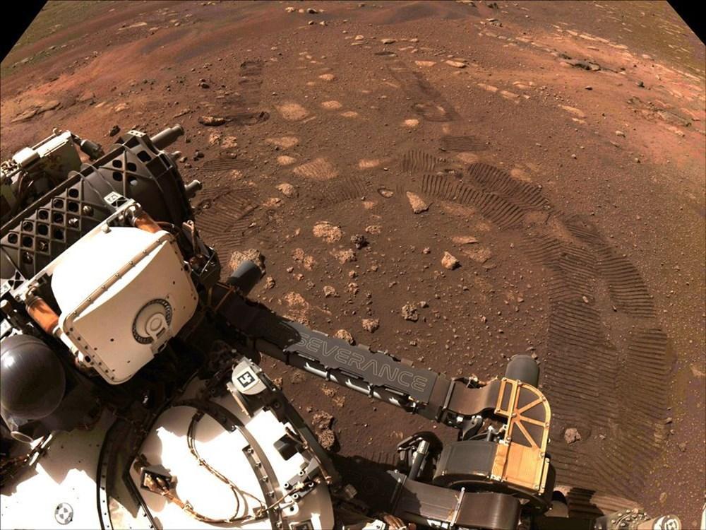 Perseverance Mars'ta 100 gün geçirdi: Kızıl Gezegen'den en etkileyici fotoğraflar - 9
